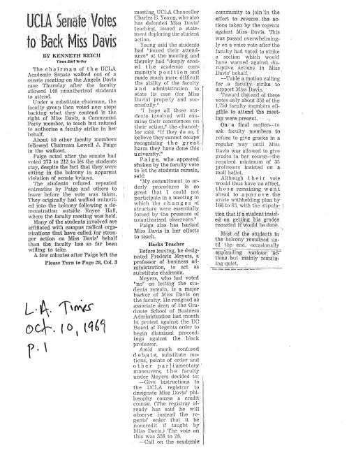 1969.10.10 LAT Davis p.1