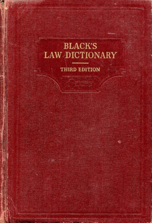 Blacks Law Dict010